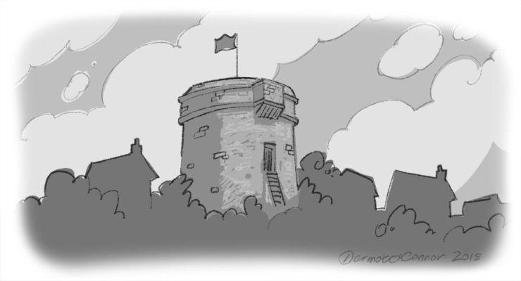 Joyce Ulysses Sandycove Martello Tower