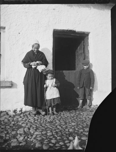 historical Irish grandmother