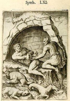 Menelaus_Proteus_engraving_achillis_1574