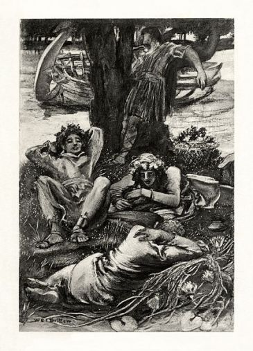 433px-W.E.F._Britten_-_The_Early_Poems_of_Alfred,_Lord_Tennyson_-_The_Lotos-Eaters